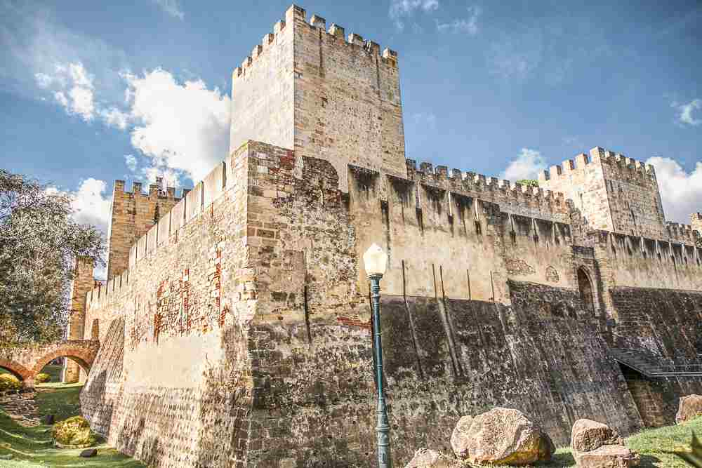 The Castle of St. George is one of the last stops during your day in Lisbon.