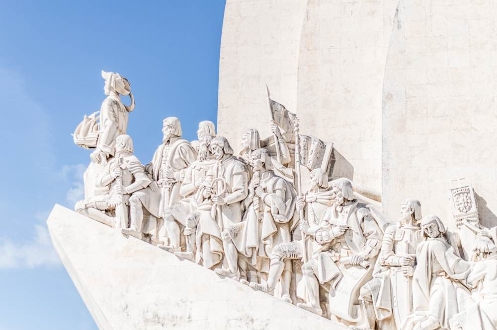 Stop by the Monument to the Discoveries during your 24 hours in Lisbon.