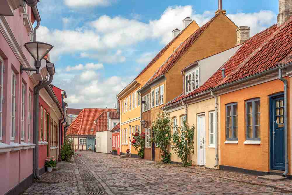 With its fairytale-like streets, Odense is the perfect day trip from Copenhagen.
