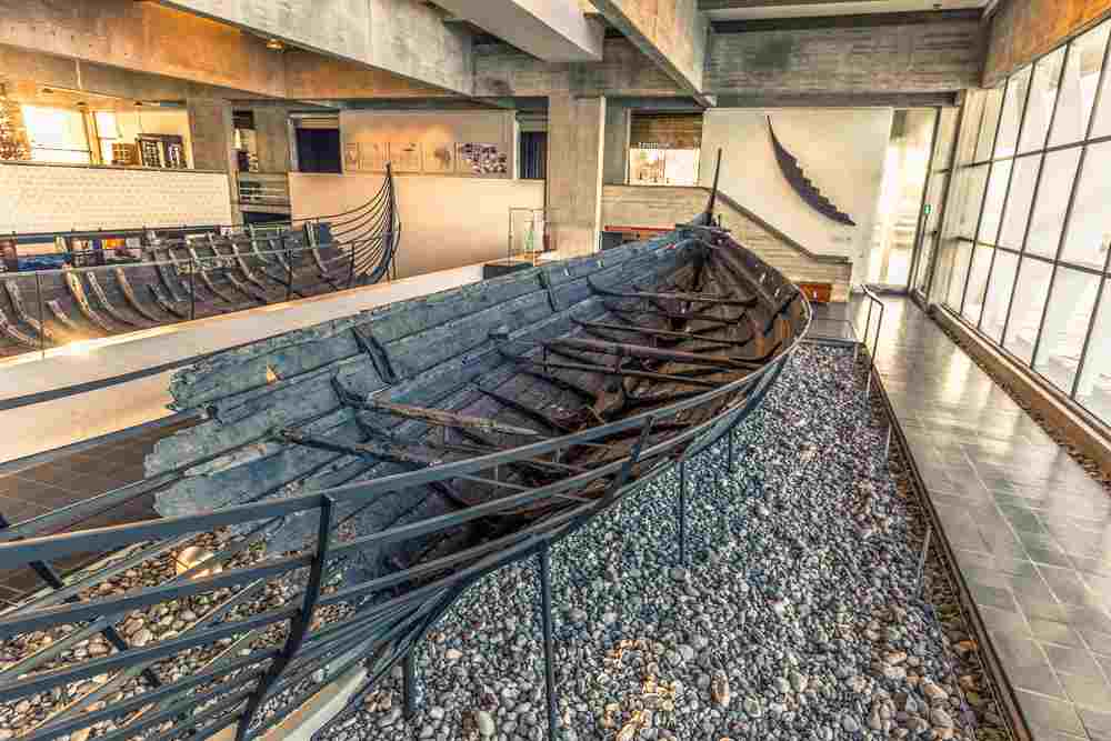 The Viking Ship Museum is a must-see on a day trip from Copenhagen to Roskilde. C: RPBaiao / shutterstock.com