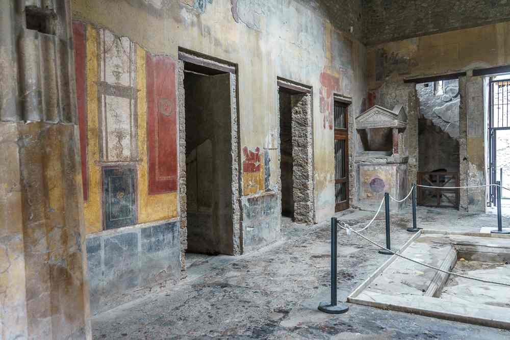 Casa del Menandro is a must-see on any day trip to Pompeii.