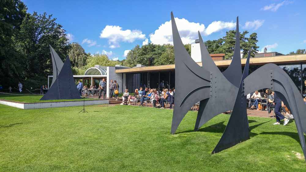 Enjoy coffee and sculpture at Louisiana Museum on this day trip from Copenhagen.