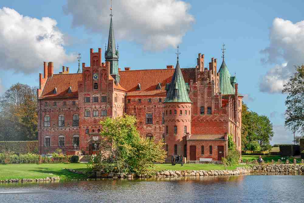 Egeskov Castle is one of Europe's most beautiful castles and a perfect day trip from Copenhagen.