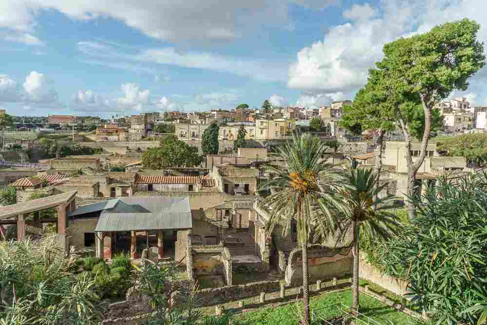 Herculaneum is the perfect day trip from Naples and easily combined with a visit to Pompeii.