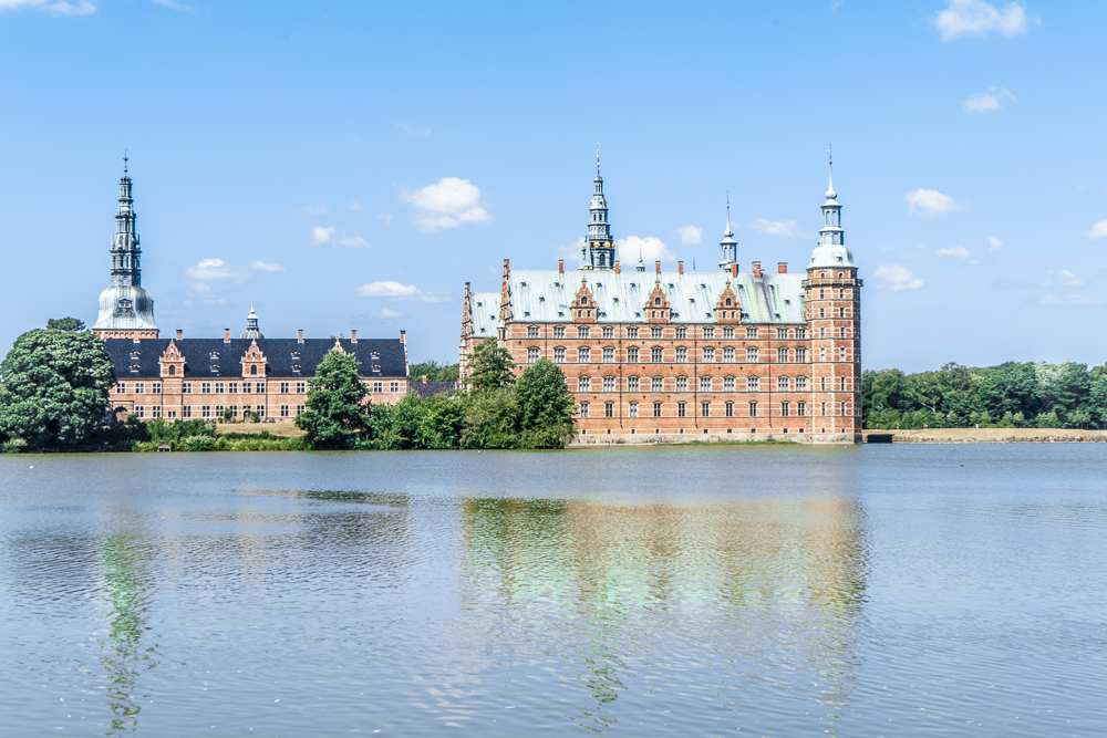 Frederiksborg is one of the beautiful castles you can visit around Copenhagen.