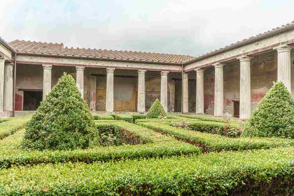 The House of Menander is one of the highlights in Pompeii.