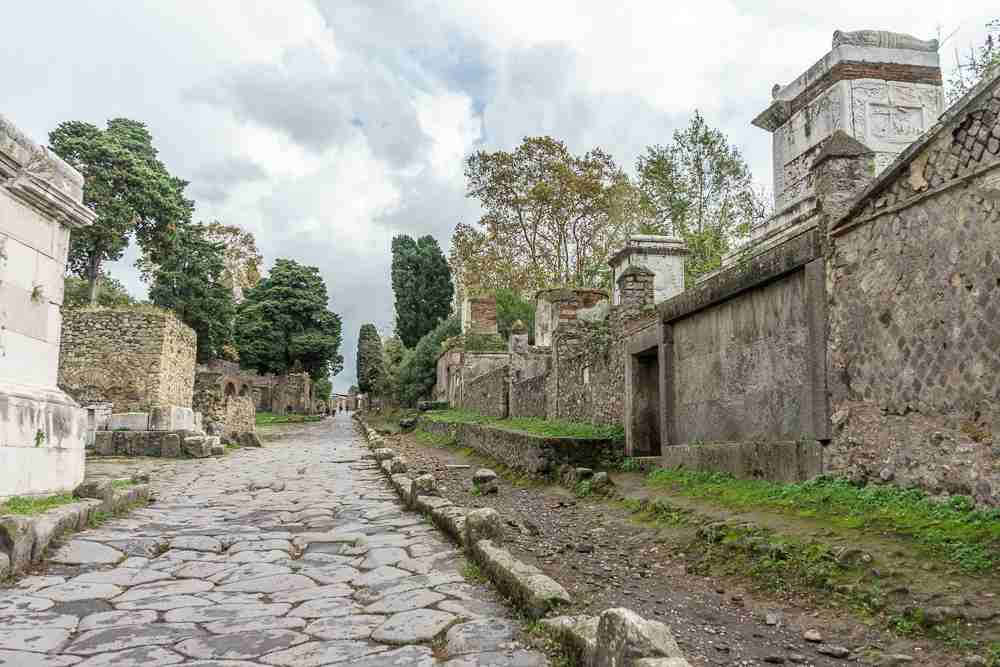 See the necropolis of Pompeii during this self-guided walking tour of Pompeii.