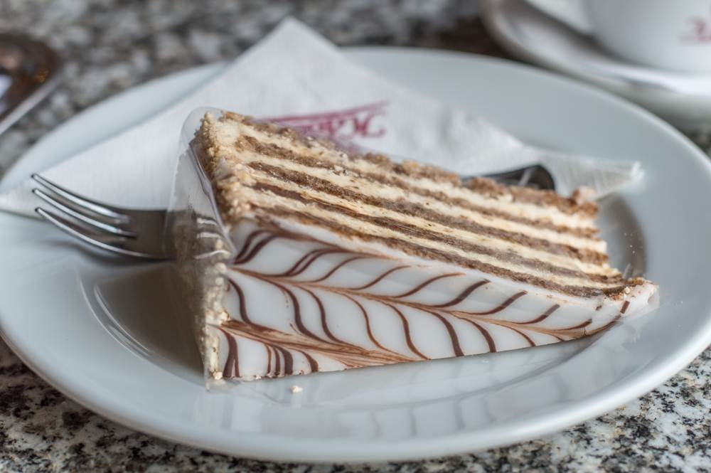 You can't let one day in Budapest pass without trying at least one of the great cakes on sale!