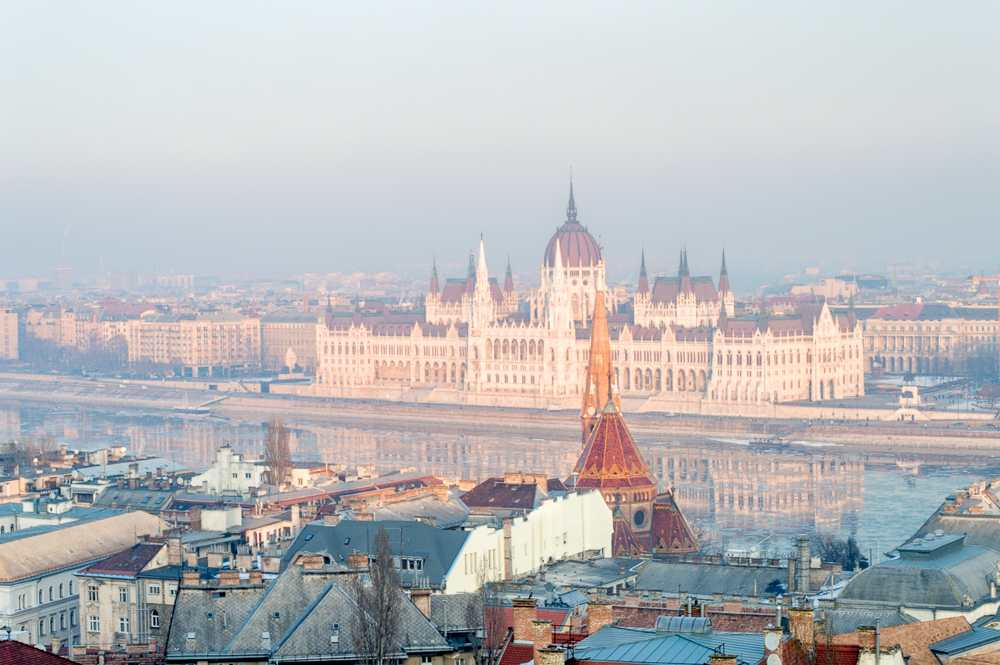 Get a view of Budapest during your 24 hours in Budapest.