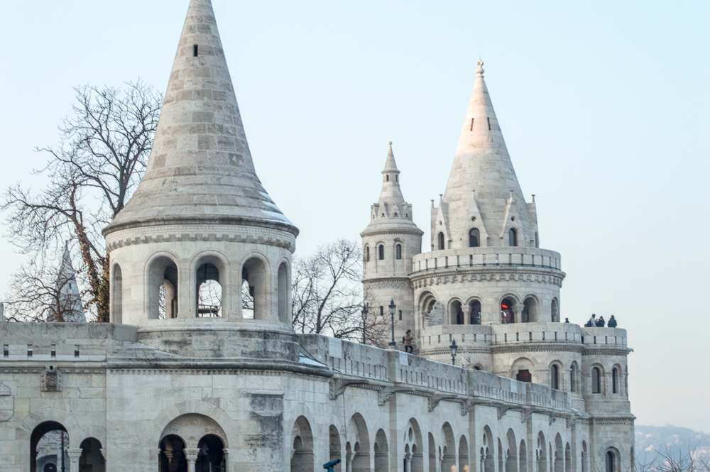 Don't miss the iconic Fisherman's Bastion during your 24 hours in Budapest.
