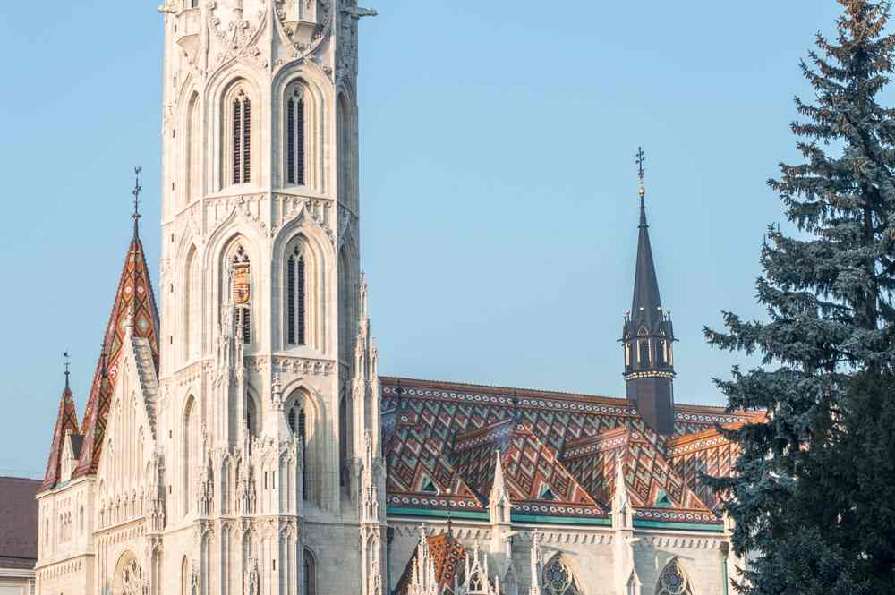 While you're on the hill, make sure to stop by Matthias Church.