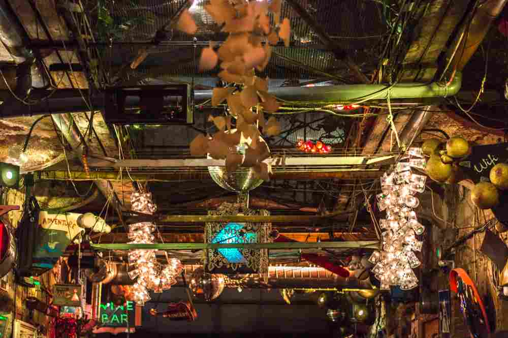 A visit to the ruin pubs in Budapest is a great way to finish your day in Budapest.