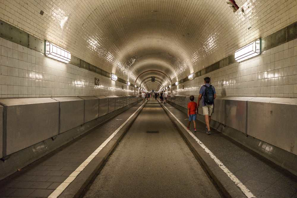 The Elbtunnel is probably one of Hamburg's most iconic sights.