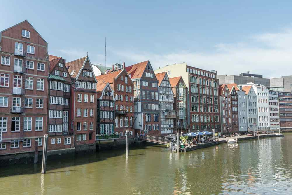 Nikolaifleet in Hamburg is one of the best things to see in the city.