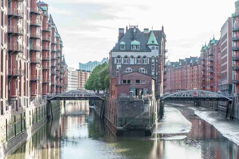 Speicherstadt is a must-see, even if you have less than a day in Hamburg.