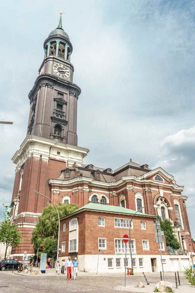 St. Michael's Church is a must-see during your short visit to Hamburg.