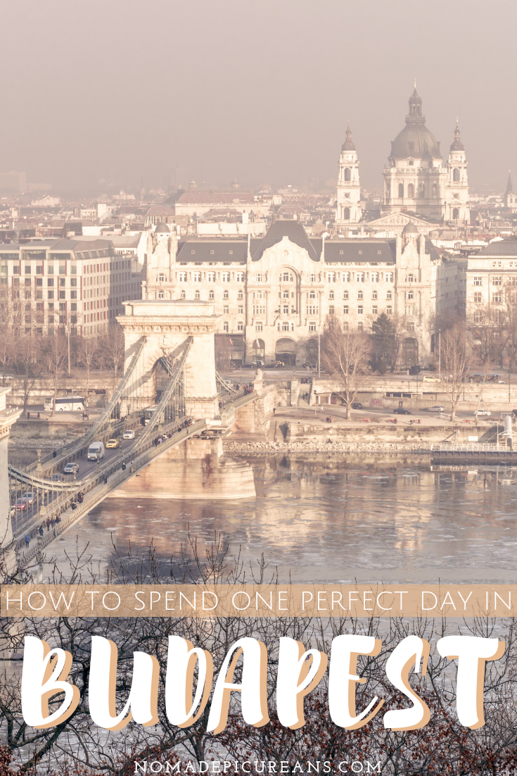 Got only one day in Budapest? Make the most of your 24 hours in Budapest with your comprehensive guide. Includes top sights, beautiful views, and delicious food! #travel #hungary #budapest