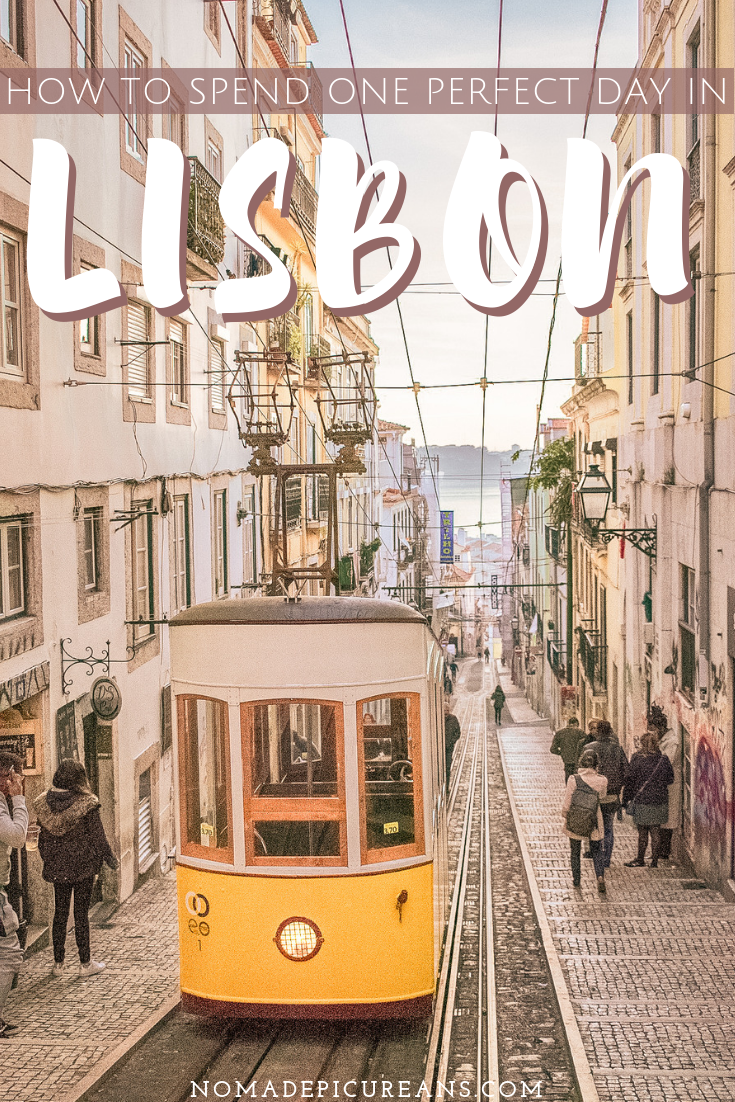 Got only one day in Lisbon? Make the most out of your 24 hours in Lisbon with our handy itinerary. Includes practical tips and a map! #travel #portugal #lisbon