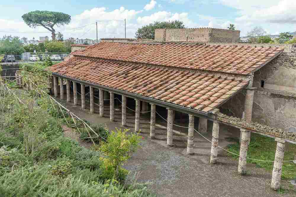 Explore Pompeii off the beaten track with a visit to the Villa of the Mysteries.
