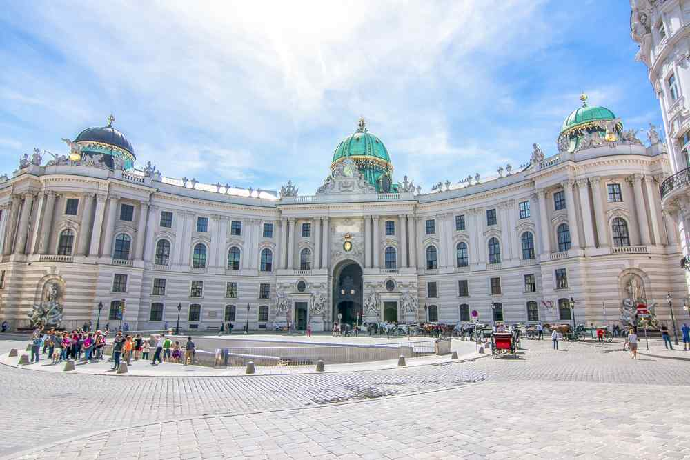 Hofburg Palace is one of the must-sees during your one day in Vienna.