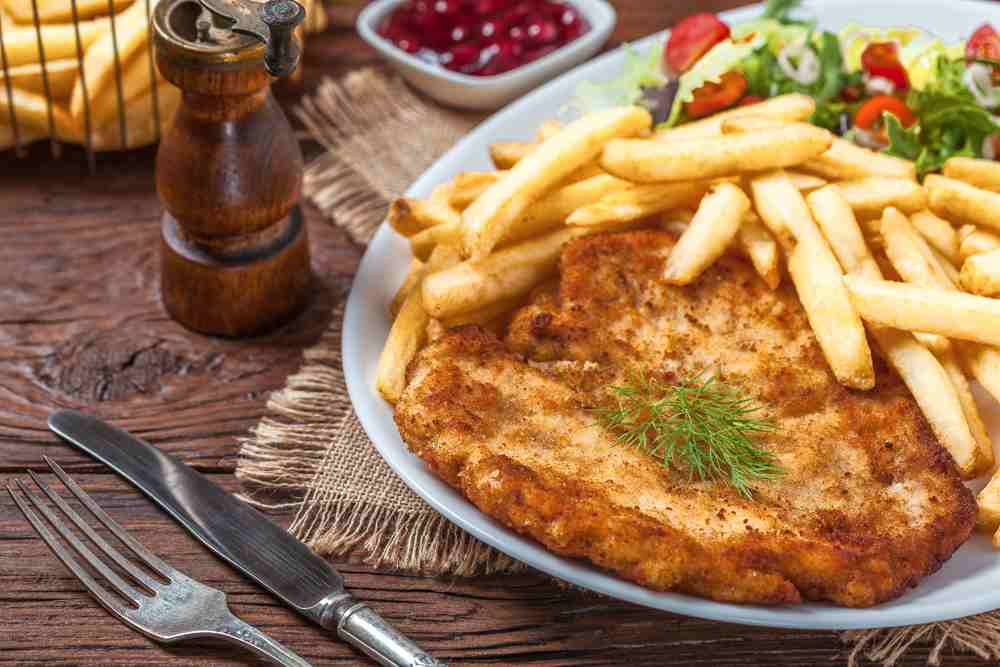 Even if you only have 1 day in Vienna, you simply have to try a schnitzel!