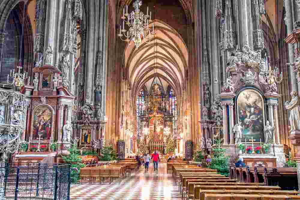 Plan some time during your day in Vienna for a visit to St Stephen's Cathedral.