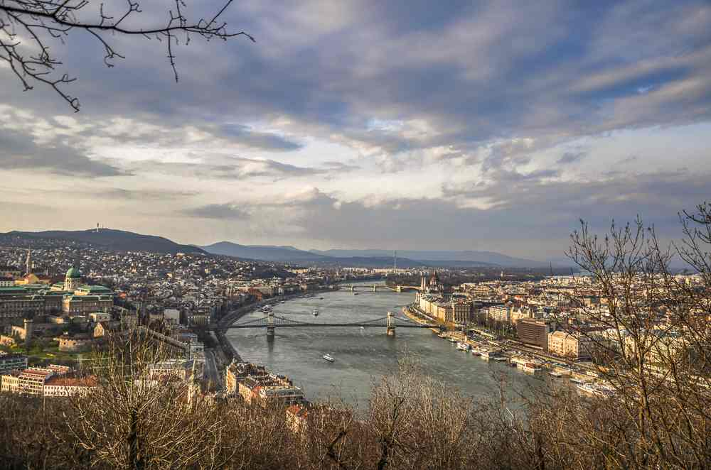 Don't forget to capture some great pictures from the Citadella during your 48 hours in Budapest.