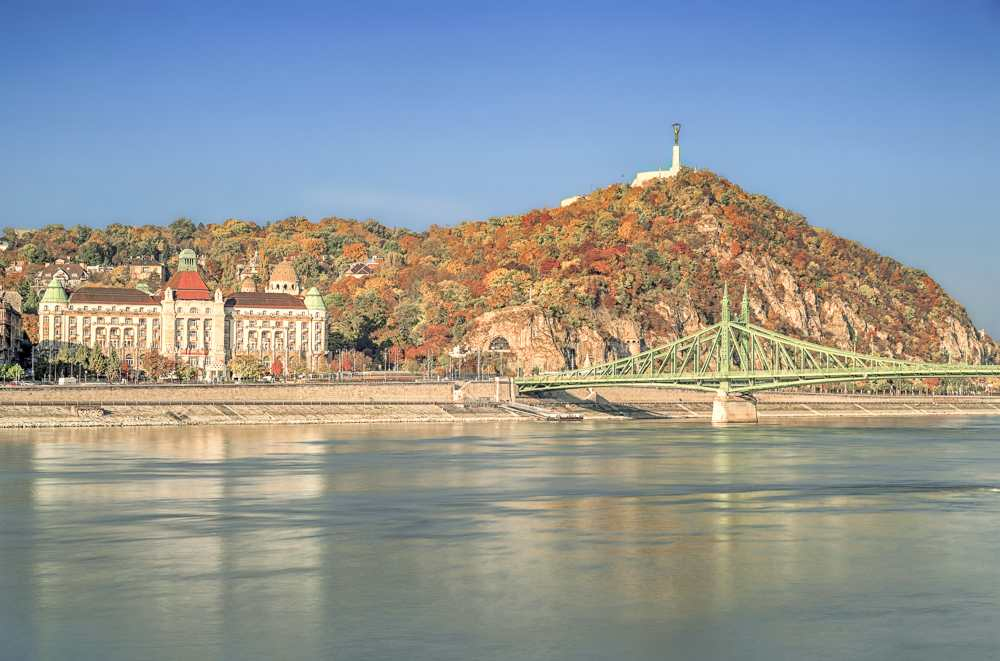 Your 2 days in Budapest have to include a visit to Gellert Hill & the Citadella.