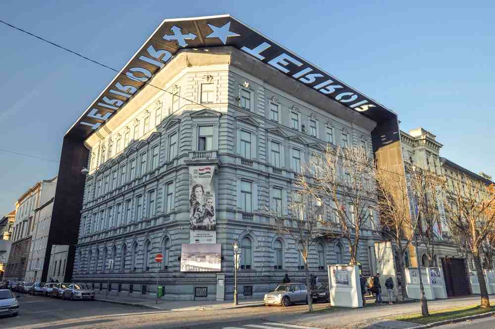 A visit to the House of Terror museum is one of the top things to do when in Budapest for 2 days. C: Adam Szuly/shutterstock.com