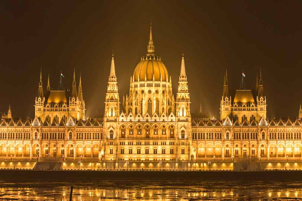 The sumptuous Hungarian Parliament Building is one of the very best attractions to cover over your 2 days in Budapest.
