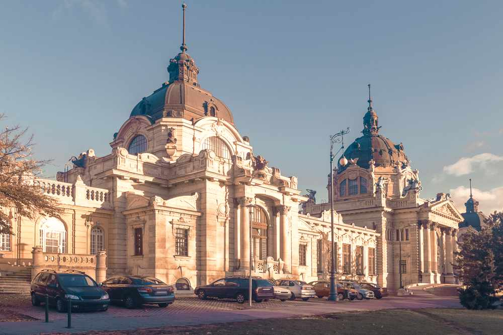 A visit to the famous Szechenyi Baths is a must when spending 2 days in Budapest.
