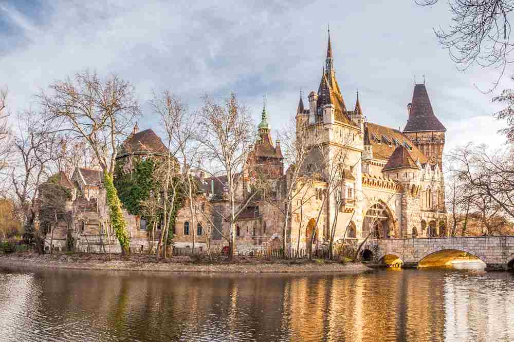 Two days in Budapest gives you enough time to see the enchanting Vajdahunyad Castle.