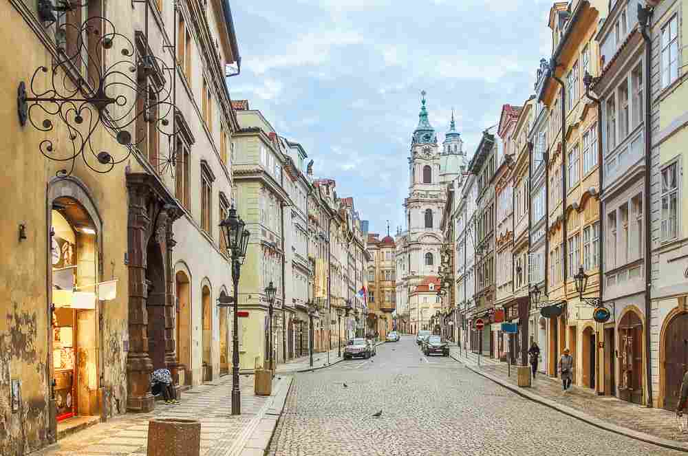 The Lesser Town is the perfect place to start off your two days in Prague.