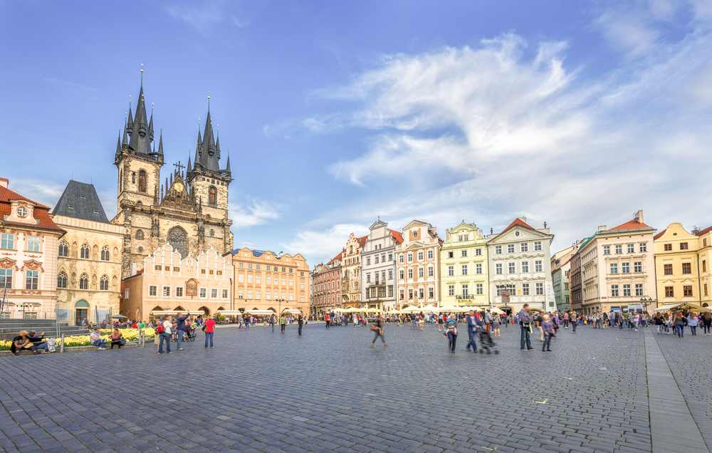 Old Town Square is a highlight of this 2-day Prague itinerary.
