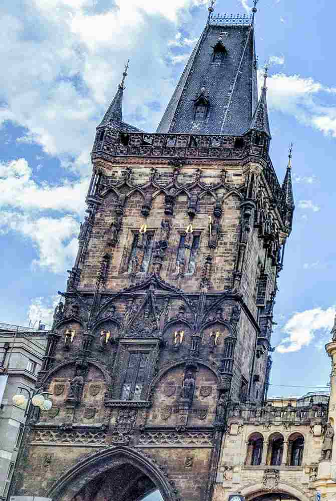 The Powder Tower is a must-see during your 2 days in Prague.