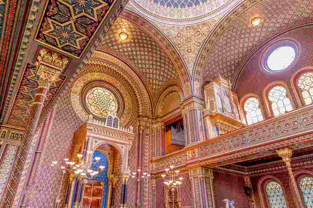 The Spanish Synagogue is a highlight of our 48-hour Prague itinerary.