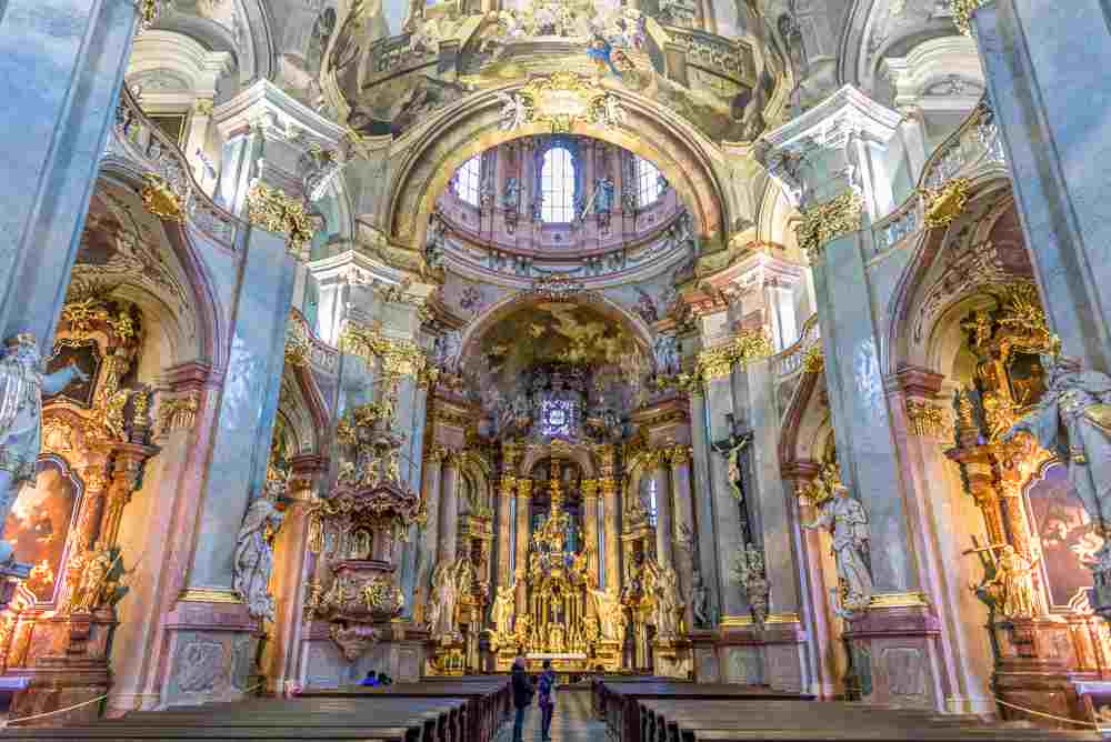 Don't miss out on beautiful St. Nicholas Church during your two days in Prague.
