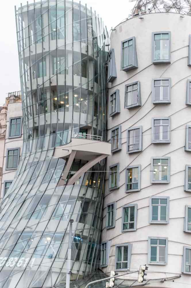 One of the highlights of any 2-day Prague itinerary is the Dancing House.