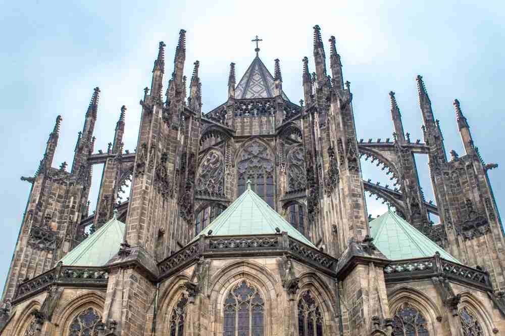 One of the highlights of your 2 days in Prague is St. Vitus Church.