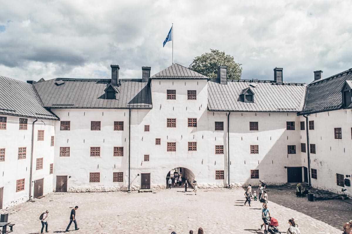 Things to see in Turku: Courtyard of Turku Castle