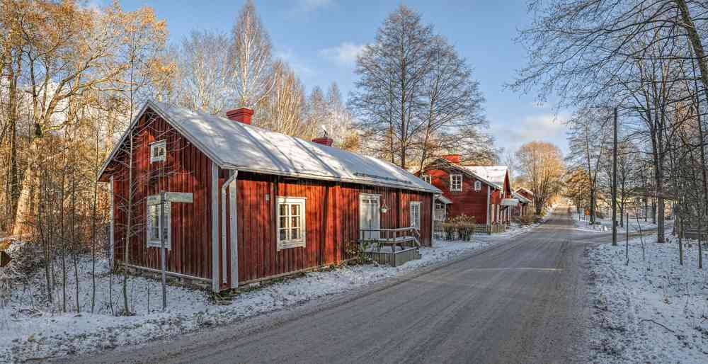 For a day trip from Helsinki off the beaten track, visit Fiskars Village.