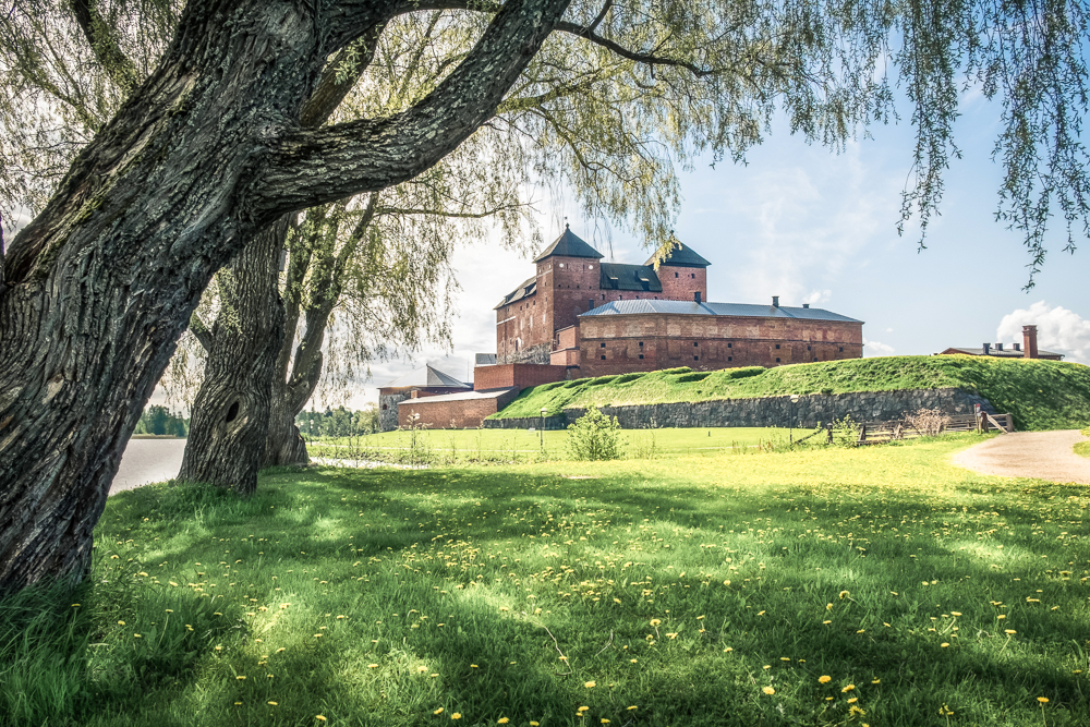 Hämeenlinna is a great day trip from Helsinki
