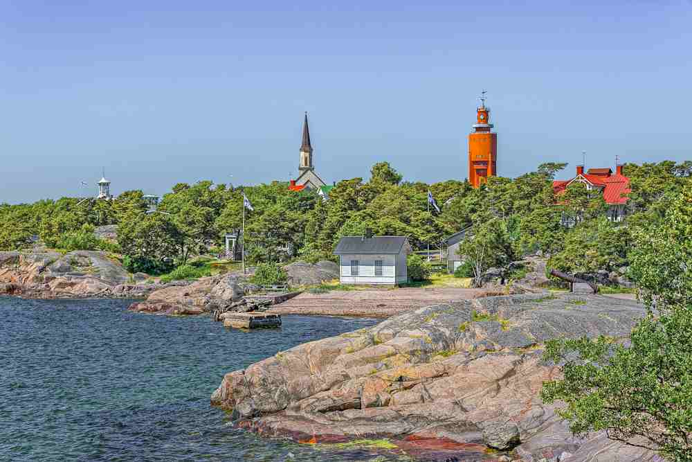 Hanko is a fun day trip from Helsinki.