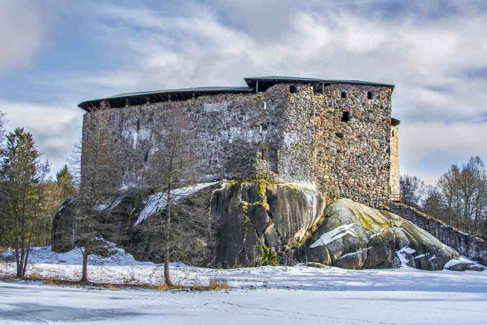If you love abandoned castles, then you have to visit Raseborg on a day trip from Helsinki.