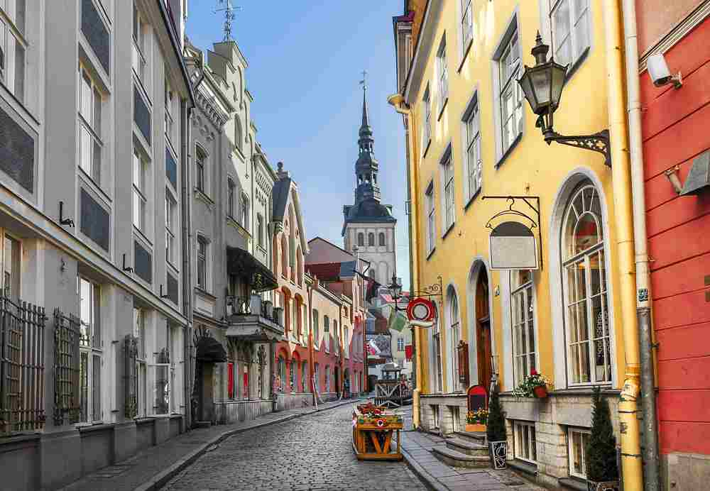 Tallinn is one of the most popular day trips from Helsinki.
