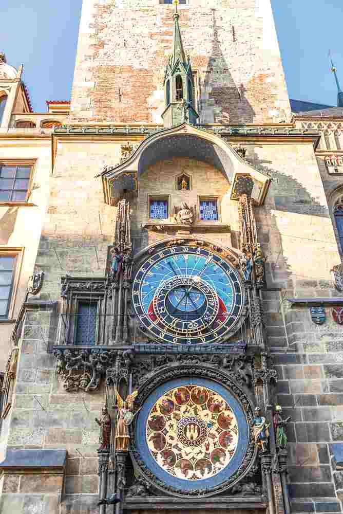 The Astronomical Clock is one of the highlights during your day in Prague.