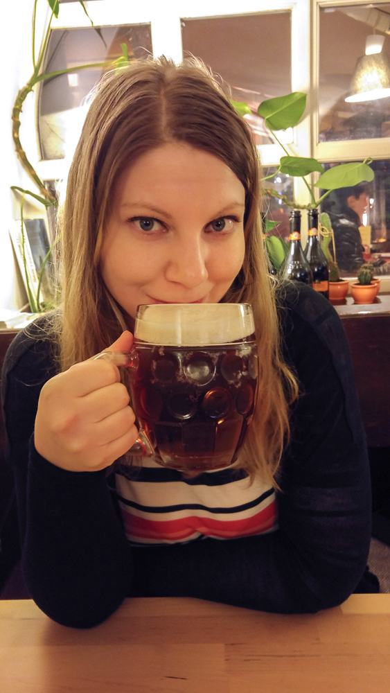 Finish off your day in Prague with a nice cold Pilsner beer!