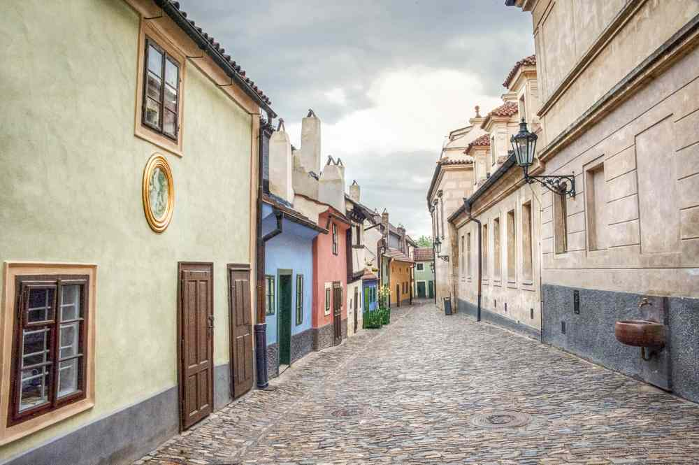 Don't miss out on the Golden Lane during your day in Prague.