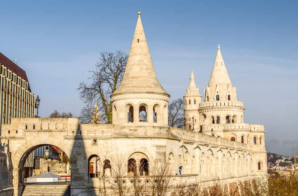 What to see in Budapest: The fairy tale like Fisherman's Bastion is one of the must-see attractions when spending 2 days in Budapest.
