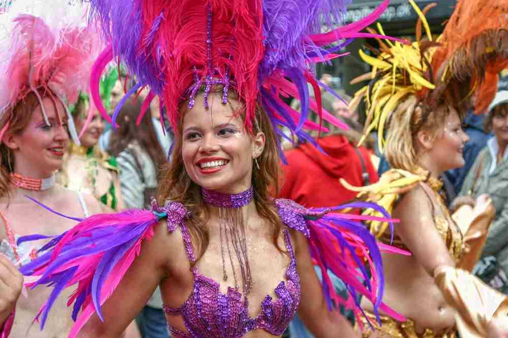 Copenhagen Carnival is one of the top events in Copenhagen in June. C: Irina Korshunova / Shutterstock.com